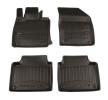 3D408081 Vloermatset Voor en achter, Zwart, Rubber, Aantal: 4 van FROGUM aan lage prijzen – bestel nu!