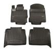 3D408180 Vloermatset Voor en achter, Zwart, Rubber, Aantal: 4 van FROGUM aan lage prijzen – bestel nu!