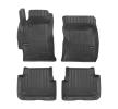 3D408562 Vloermatset Voor en achter, Zwart, Rubber, Aantal: 4 van FROGUM aan lage prijzen – bestel nu!