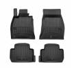3D408685 Vloermatset Voor en achter, Zwart, Rubber, Aantal: 4 van FROGUM aan lage prijzen – bestel nu!