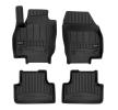 3D408821 Vloermatset Voor en achter, Zwart, Rubber, Aantal: 4 van FROGUM aan lage prijzen – bestel nu!