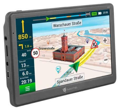NAVE700T Navigační systém NAVITEL originální kvality