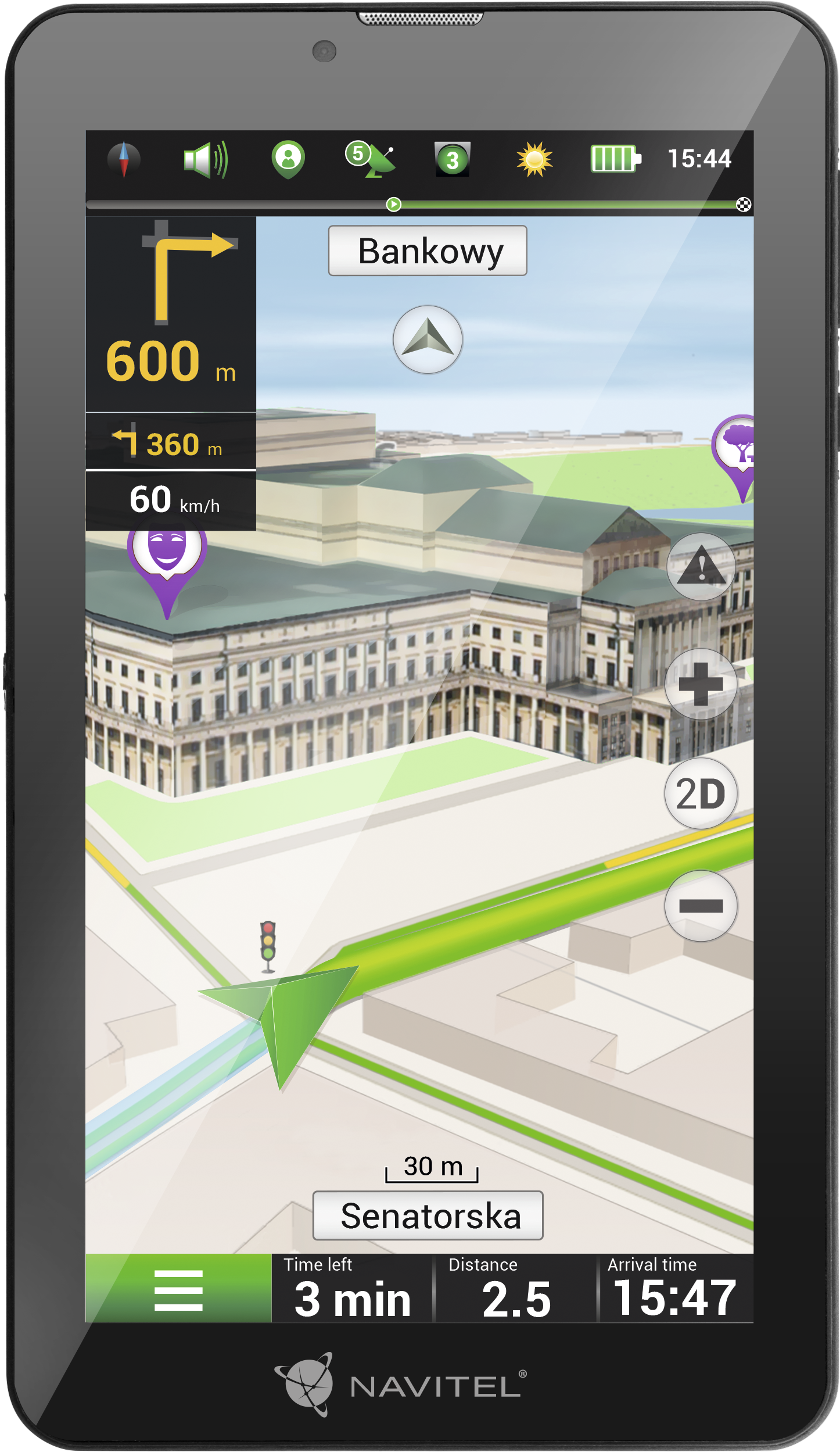 NAVT7003GP NAVITEL Bluetooth: Ja, Android 8.1 GO, 2G/3G Navigatiesysteem NAVT7003GP