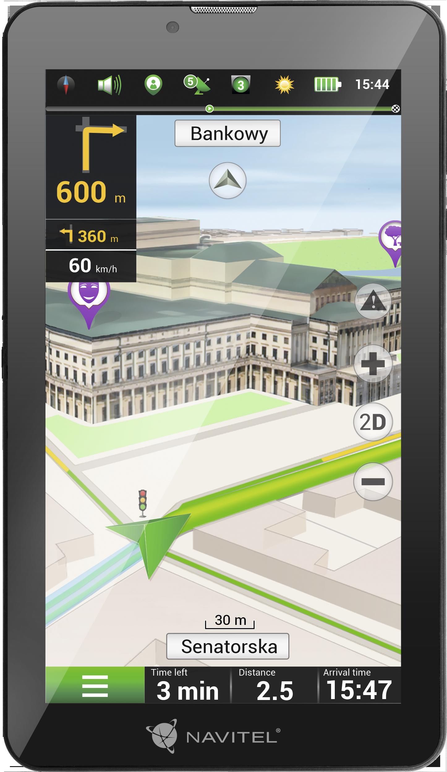 NAVT7003GP NAVITEL Bluetooth: Ano, Android 8.1 GO, 2G/3G Navigační systém NAVT7003GP kupte si levně