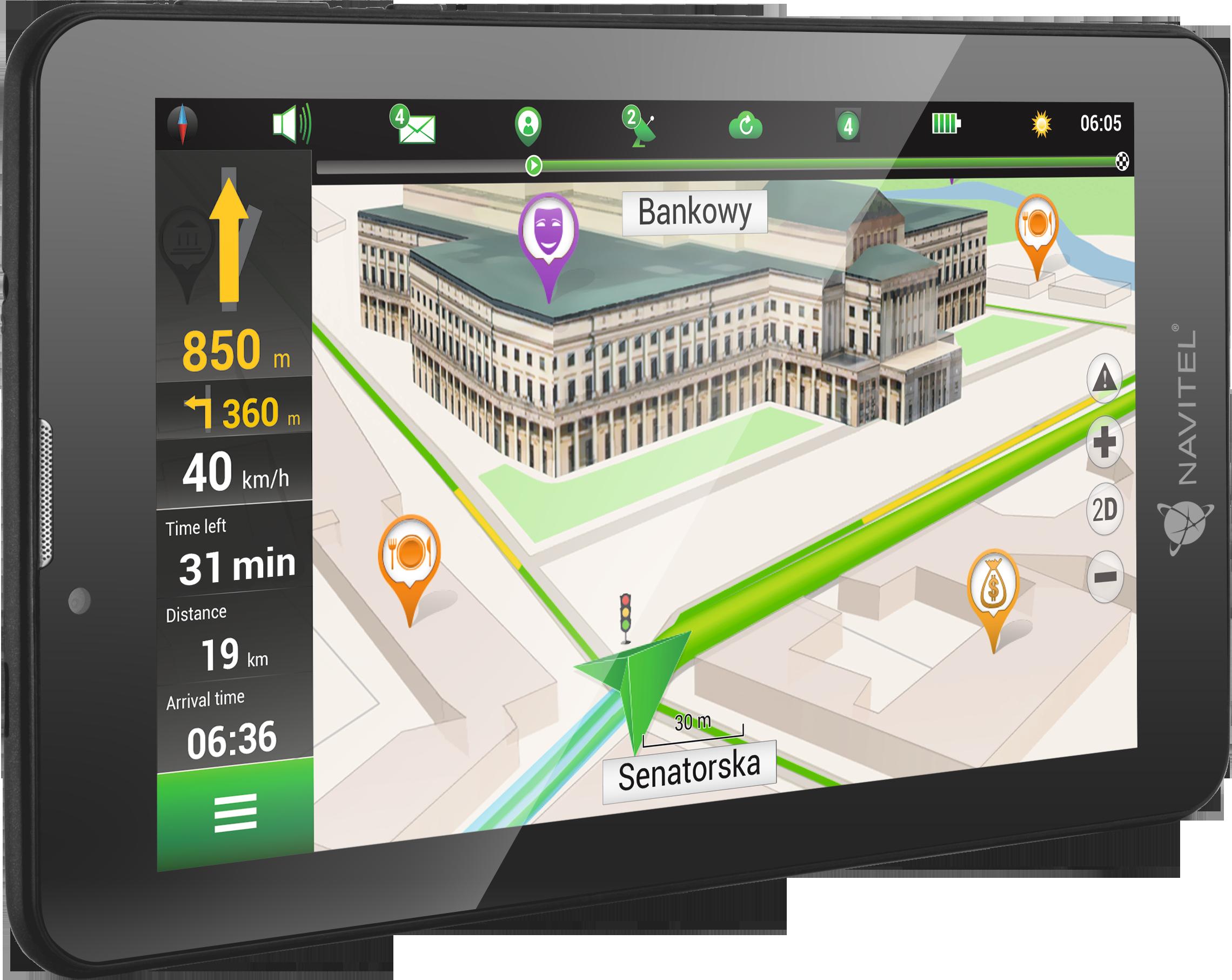 Navigationssystem NAVT7003GP von NAVITEL