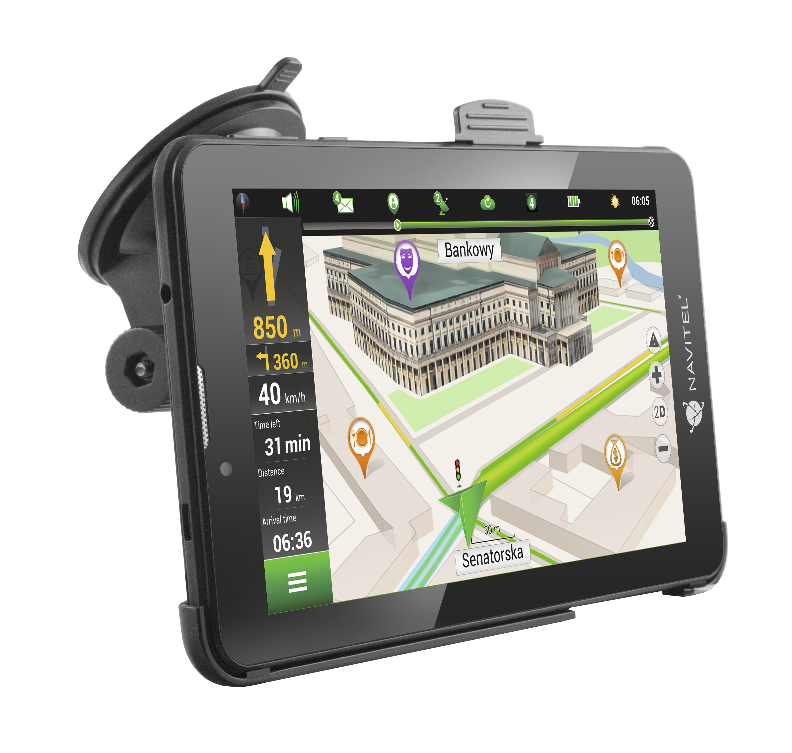 NAVT7003GP Navigatiesysteem NAVITEL - Voordelige producten van merken.