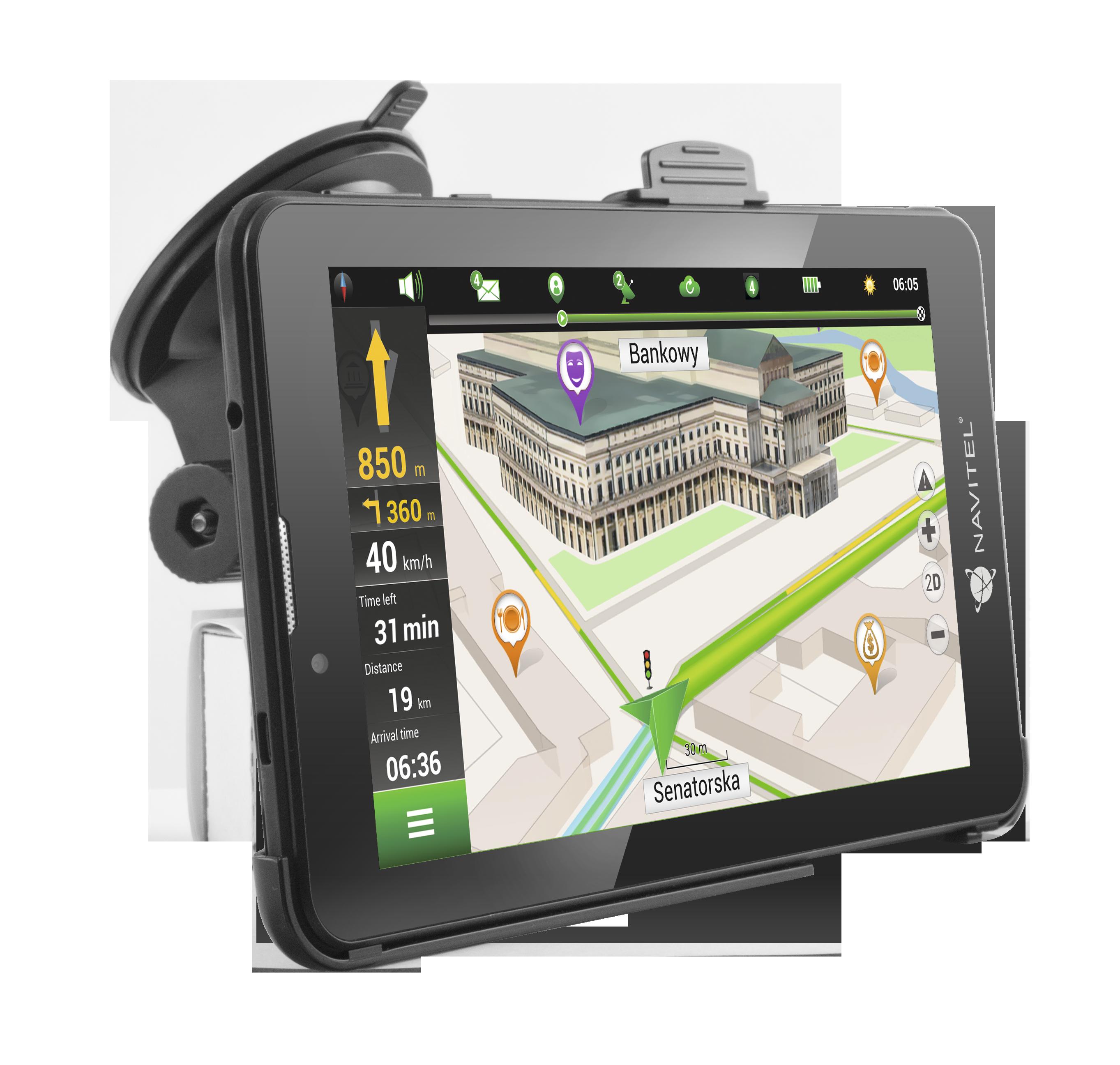 NAVT7003GP Navigační systém NAVITEL - Levné značkové produkty