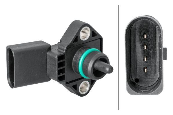 6PP 358 152-011 HELLA Sensor, Ladedruck 6PP 358 152-011 günstig kaufen