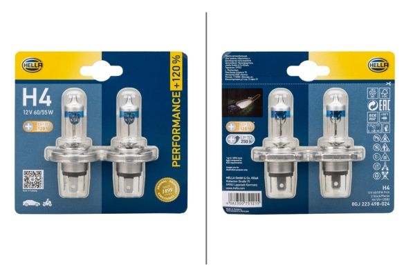 Glühlampe, Hauptscheinwerfer HELLA 8GJ 223 498-024 Bewertungen