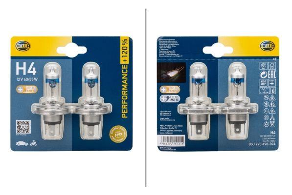 HELLA Glühlampe, Hauptscheinwerfer für AVIA - Artikelnummer: 8GJ 223 498-024