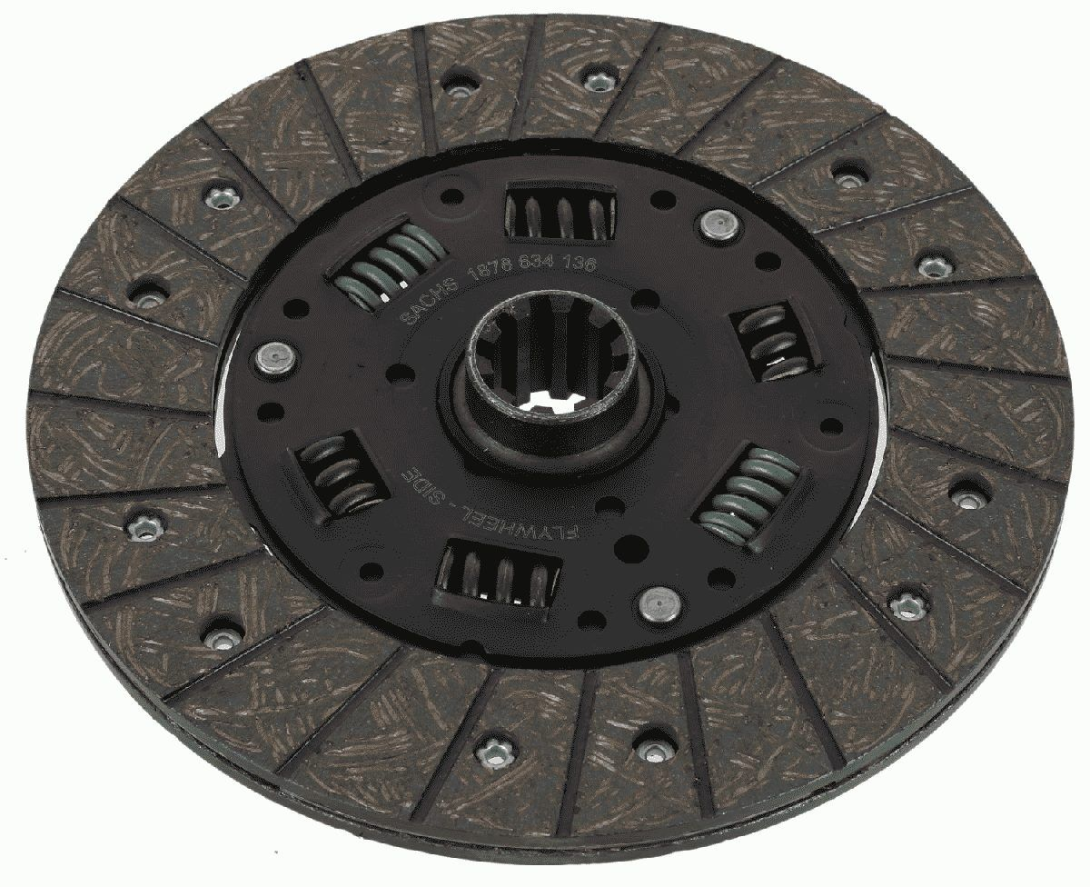 Clutch plate 1878 634 136 SACHS — only new parts