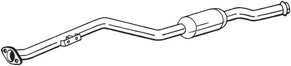 Vorderrohr BOSAL 850-173