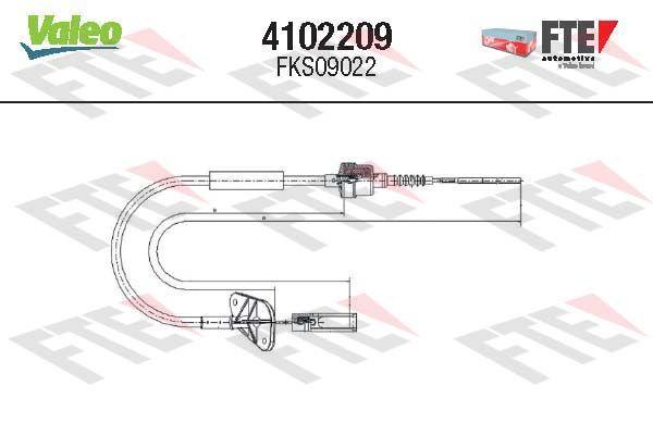 Kupplungsseil FTE 4102209
