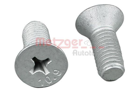 METZGER: Original Schraube, Bremsscheibe 11676K ()