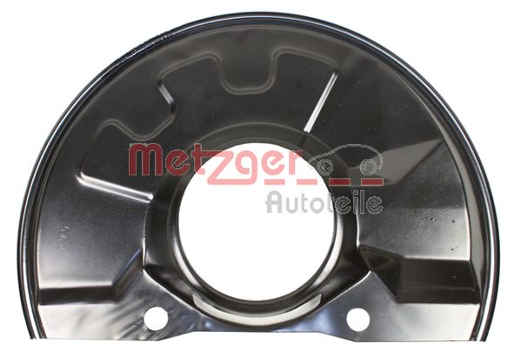 METZGER: Original Bremsscheiben Schutzblech 6115237 ()