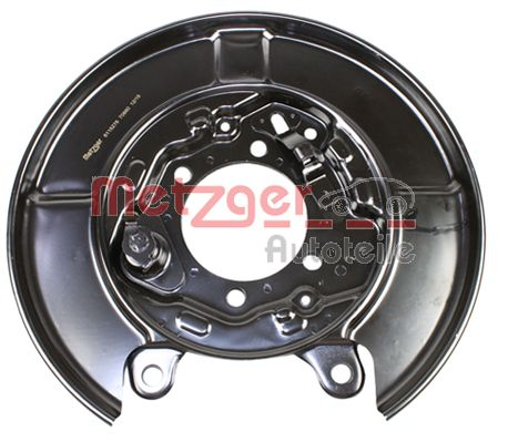 Spritzblech Bremsscheibe Nissan Qashqai J11 hinten und vorne 2021 - METZGER 6115276 ()