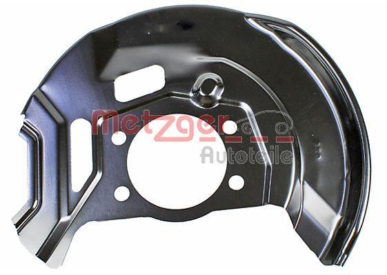 6115278 METZGER Vorderachse rechts Spritzblech, Bremsscheibe 6115278 günstig kaufen