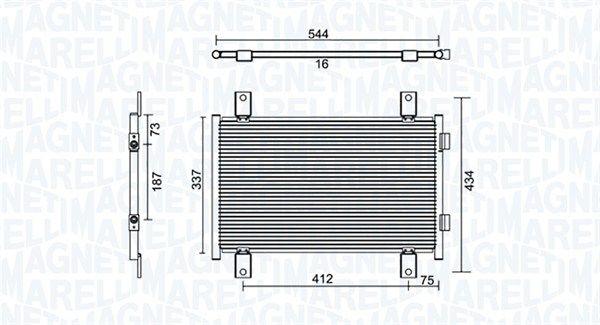 Original RENAULT Klimakühler 350203895000