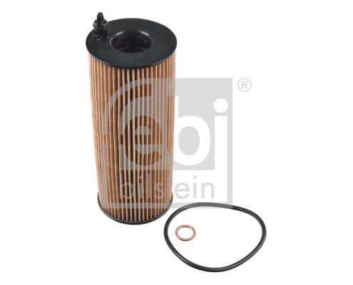 109707 FEBI BILSTEIN Filtereinsatz, mit Dichtring Innendurchmesser: 22,5mm, Ø: 63,5mm, Höhe: 63,5mm, Länge: 167mm, Länge: 167mm Ölfilter 109707 günstig kaufen