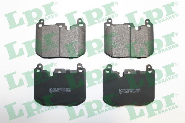 Bremsbelagsatz Scheibenbremse LPR 05P2116