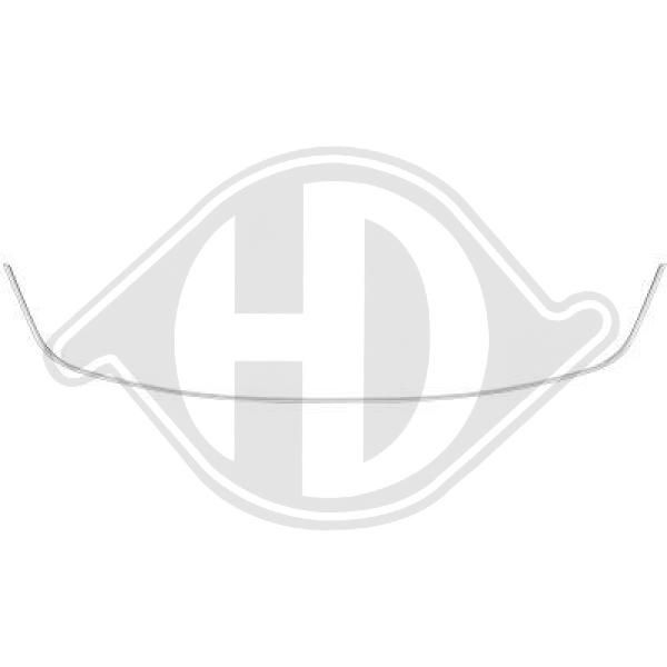 Zierleiste Stoßstange 4466044 Megane III Grandtour (KZ) 1.5 dCi 110 PS Premium Autoteile-Angebot