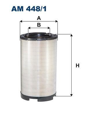 AM 448/1 FILTRON Luftfilter für SCANIA online bestellen