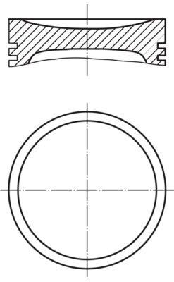 MAHLE ORIGINAL: Original Kolben 013 PI 00139 000 ()