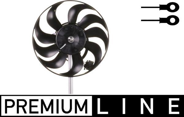MAHLE ORIGINAL: Original Lüfter, Klimakondensator ACF 1 000P ()