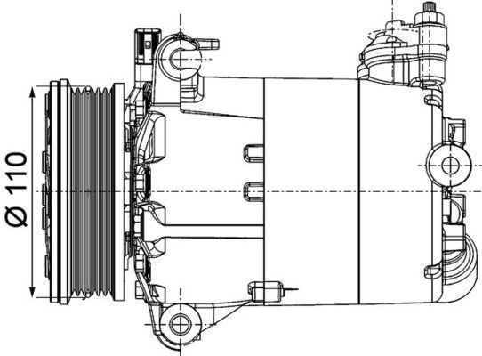 Original LAND ROVER Kompressor ACP 1357 000P