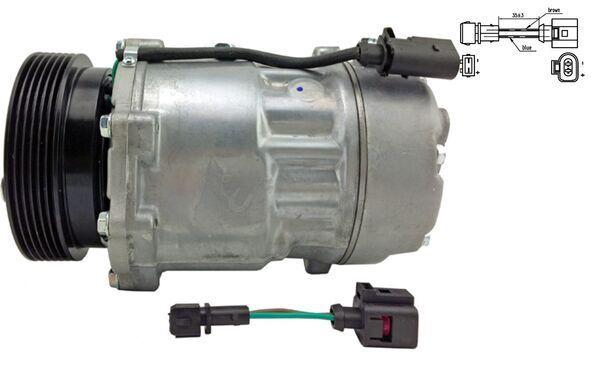 ACP 191 000S Klimaanlage Kompressor MAHLE ORIGINAL - Markenprodukte billig