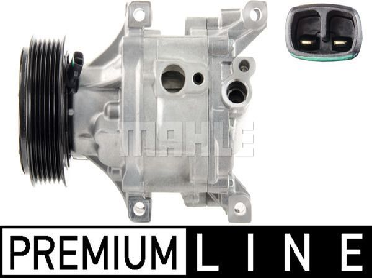 ACP443000P Kompressor, Klimaanlage BEHR *** PREMIUM LINE *** MAHLE ORIGINAL 8FK351001281 - Große Auswahl - stark reduziert