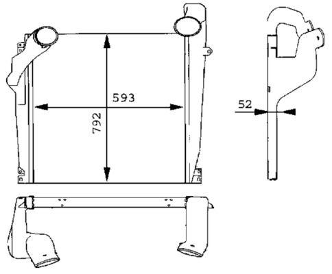 CI 98 000P MAHLE ORIGINAL Ladeluftkühler für FAP online bestellen