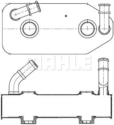 MAHLE ORIGINAL: Original Getriebe Ölkühler CLC 178 000S ()