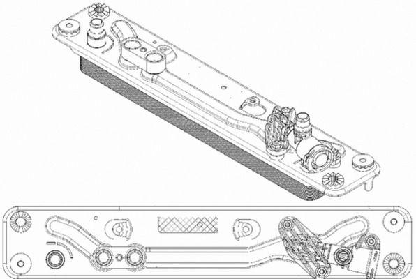 BMW Z1 Getriebe Ölkühler - Original MAHLE ORIGINAL CLC 182 000P
