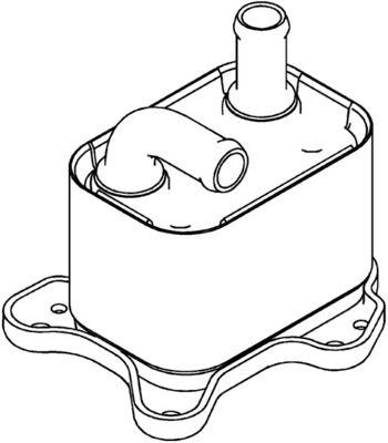CLC183000P Ölkühler, Automatikgetriebe BEHR *** PREMIUM LINE *** MAHLE ORIGINAL 70821046 - Große Auswahl - stark reduziert