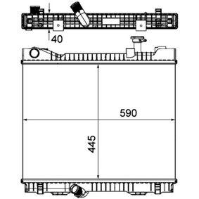 CR1045000P Wasserkühler BEHR *** PREMIUM LINE *** MAHLE ORIGINAL 8MK376751221 - Große Auswahl - stark reduziert