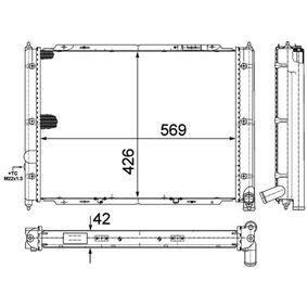 CR361000P Wasserkühler BEHR *** PREMIUM LINE *** MAHLE ORIGINAL 8MK376713631 - Große Auswahl - stark reduziert