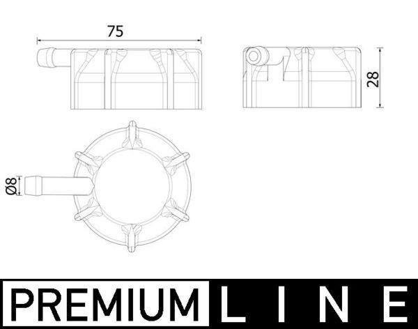 Verschlussdeckel, Kühlmittelbehälter CRB 145 000P Niedrige Preise - Jetzt kaufen!