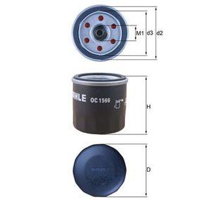 OC 1566 Ölfilter MAHLE ORIGINAL in Original Qualität