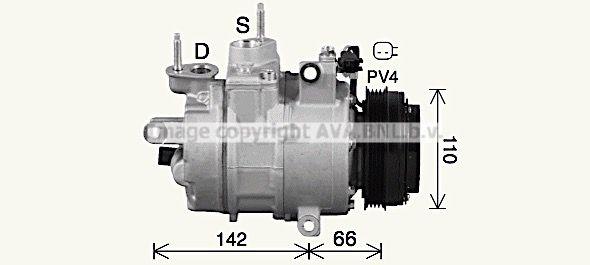 OE Original Klimakompressor FDAK670 PRASCO