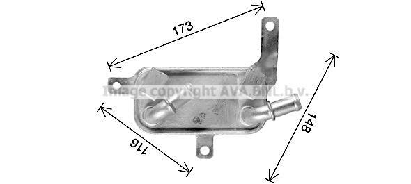 OPEL TIGRA Automatikgetriebe Ölkühler - Original PRASCO OL3698
