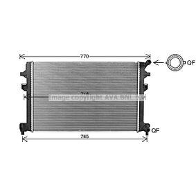 VN2426 PRASCO Kühlrippen gelötet, Aluminium, Kunststoff Kühler, Motorkühlung VN2426 günstig kaufen
