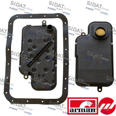 57019AS FISPA Hydraulikfiltersatz, Automatikgetriebe - online kaufen