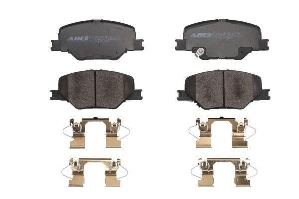 Bremsbelagsatz Scheibenbremse ABE C1X048ABE