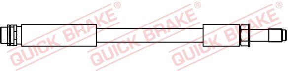 MERCEDES-BENZ GLA 2017 Bremsschlauch - Original QUICK BRAKE 32.426 Länge: 380mm, Gewindemaß 1: M10x1, Gewindemaß 2: M10x1