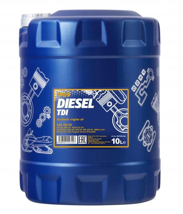 Kup MANNOL Olej silnikowy MN7909-10 ciężarówki
