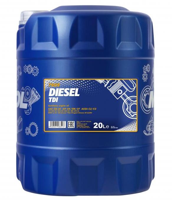 Achat de MN7909-20 MANNOL DIESEL TDI 5W-30, 5W-30, 20I, Huile synthétique Huile moteur MN7909-20 pas chères