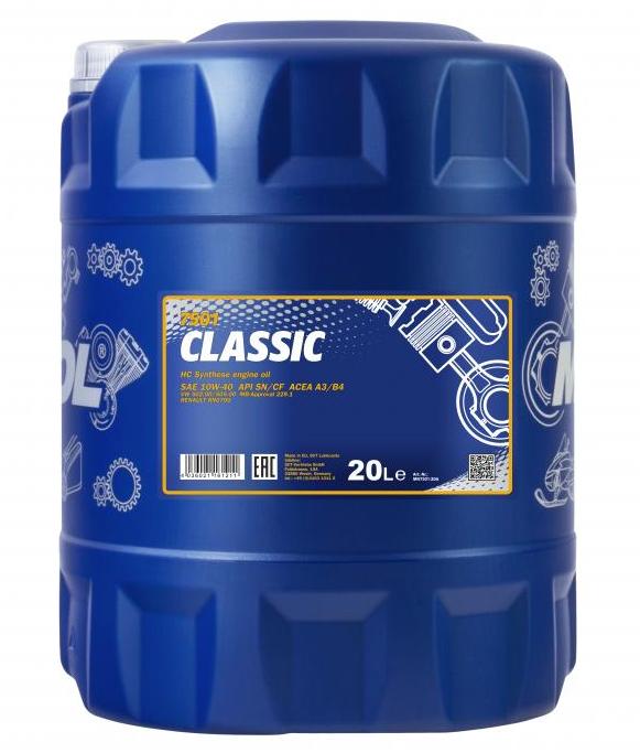 MN7501-20 MANNOL Motoröl für DAF online bestellen