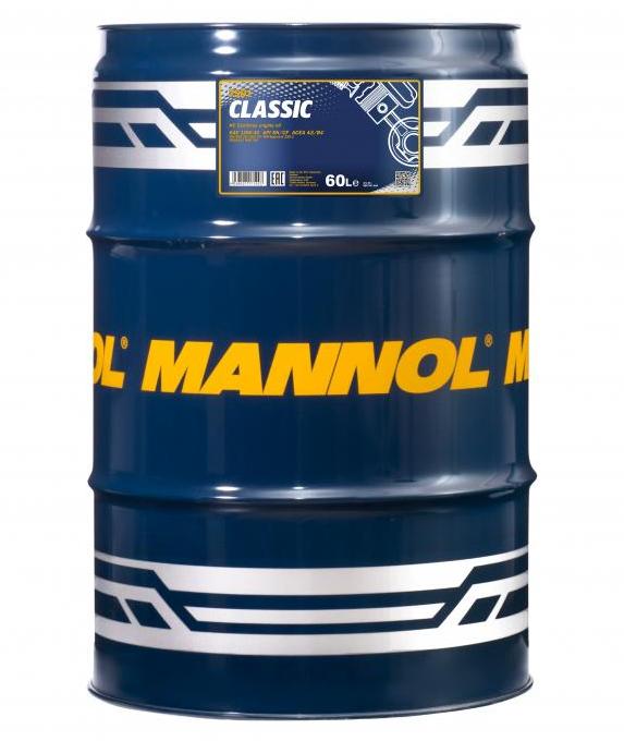 MN7501-60 MANNOL CLASSIC 10W-40, 60l, Teilsynthetiköl Motoröl MN7501-60 günstig kaufen