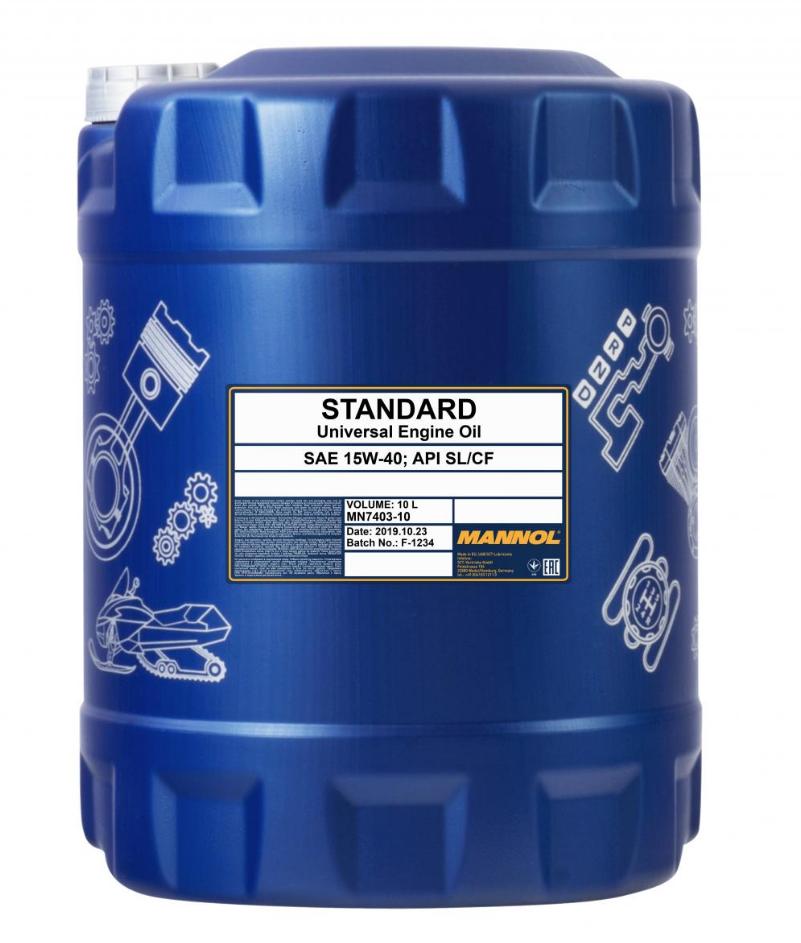 MN7403-10 MANNOL STANDARD 15W-40, 10l, Mineralöl Motoröl MN7403-10 günstig kaufen